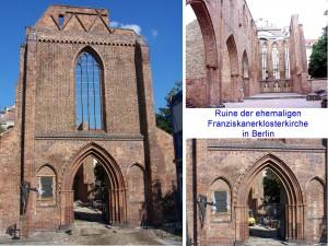 Ruine der Franziskanerklosterkirche, 2004/05